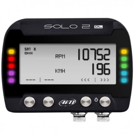 AIM SOLO 2 DL GPS Lap Timer with ECU Input